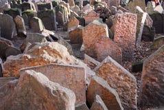 Jewish Cemetery - Prague, Czech Republic Royalty Free Stock Photo