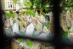 Jewish cemetery, Prague, Czech republic Stock Photo
