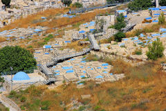 Jewish cemetery, Safed, Upper Galilee, Israel Royalty Free Stock Photography
