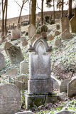 Jewish Cemetery, Trebic Royalty Free Stock Photos