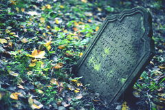 Jewish cemetry Stock Photo