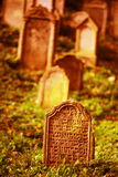 Jewish cemetry Stock Images