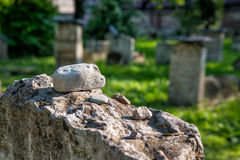 Jewish cemetry in Krakow Royalty Free Stock Photography
