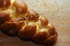 Jewish challah. Baked for sabbath evening dinner Royalty Free Stock Photo