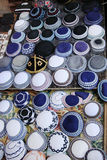 Jewish colorful yarmulkes Stock Image