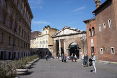 Jewish district in Rome Royalty Free Stock Photo