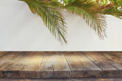 Free Jewish Festival Of Sukkot. Traditional Succah & X28;hut& X29;. Empty Wooden Old Table For Product Display And Presentation Royalty Free Stock Photography - 98255667
