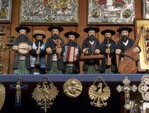Jewish Figures - Krakow - Poland Stock Image