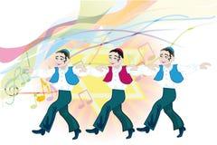 Jewish folk dance Royalty Free Stock Image