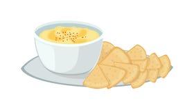 Jewish food  illustration. Royalty Free Stock Photo