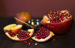 Jewish food. Royalty Free Stock Images