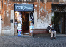 Jewish ghetto in Rome Stock Photography