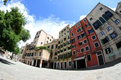 Jewish ghetto in Venice in Italy Royalty Free Stock Photography