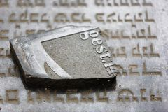 Jewish grave Stock Photos