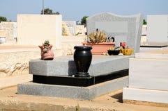 Jewish grave. Stock Photo