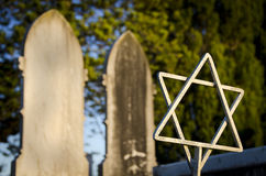 Jewish graves Stock Images