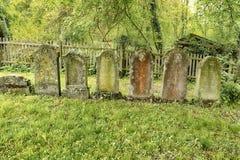 Jewish Gravestones Stock Image