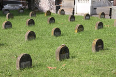 Jewish graveyard Royalty Free Stock Photography