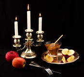 Jewish holiday. Ceremony of the meeting the jewish new year Stock Photo