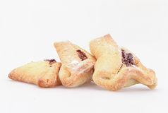 Jewish holiday food Purim Hamantaschen Stock Photography