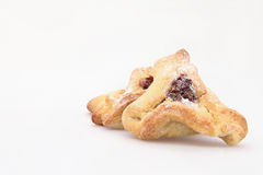 Jewish holiday food Purim Hamantaschen Royalty Free Stock Photos