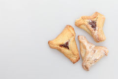 Jewish holiday food Purim Hamantaschen Stock Images
