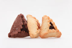 Jewish holiday food Purim Hamantaschen Royalty Free Stock Photo