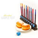 Jewish holiday Hanukkah Stock Image