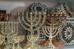 Jewish holiday Hanukkah . Stock Photography