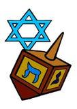 Jewish holiday of Hanukkah Stock Photography