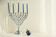 Jewish holiday Hanukkah Stock Photography