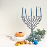 Jewish holiday Hanukkah Royalty Free Stock Photo