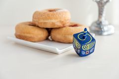 Jewish holiday Hanukkah Royalty Free Stock Images