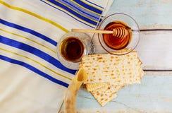 Jewish holiday matzoh passover bread torah Stock Image
