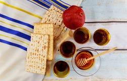 Jewish holiday matzoh passover bread torah Stock Images