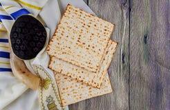 Jewish holiday matzoh passover bread torah Royalty Free Stock Photos