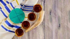 Jewish holiday matzoh passover bread torah Royalty Free Stock Photography