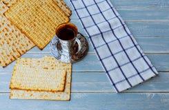 Jewish holiday matzoh passover bread torah. Jewish holiday passover jewish matzoh bread holiday matzoth celebration Stock Image