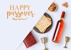 Jewish holiday Passover banner design Stock Images