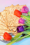 Jewish holiday of Passover and its attributes Stock Photos