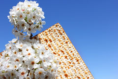 Jewish holiday of Passover and matzo Stock Photography