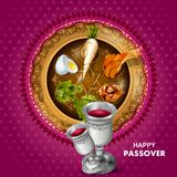 Jewish holiday of Passover Pesach Seder Royalty Free Stock Photos