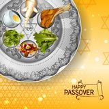 Jewish holiday of Passover Pesach Seder Stock Photography