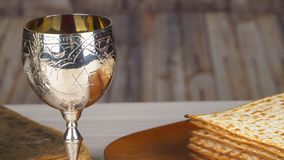 Jewish holiday Pesah celebration concept jewish Passover holiday Passover matzah stock footage