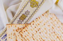 Jewish holiday Pesah  Passover  with matza. Jewish holiday Pesah jewish Passover holiday with matza passover Mats Stock Photo
