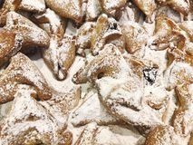 Jewish holiday Purim concept with hamantaschen cookies. Traditional Jewish holiday food - Purim Hamantaschen Stock Photos