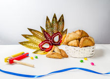 Jewish holiday of Purim Stock Images