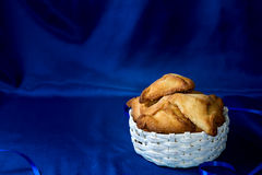 Jewish holiday of Purim, hamantaschen cookies Stock Images