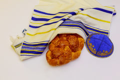Jewish holiday Sabbath Prayer Shawl Tallit jewish religious symbol Stock Photography