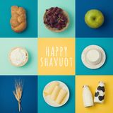 Jewish holiday Shavuot concept Stock Images